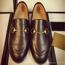 Most Comfortable Loafers 2017 Brand Designer Horsebit Flat Shoes Women Black Genuine