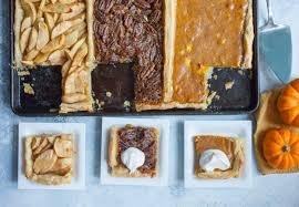 thanksgiving tri pie three in one pie macheesmo