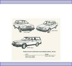handleiding volvo 240 1988 pagina 1 van 127 english