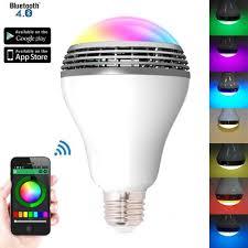 Bluetooth Light Bulb Speaker Canbor Wireless Bluetooth Speaker Smart Led Night Light Bulb Audio