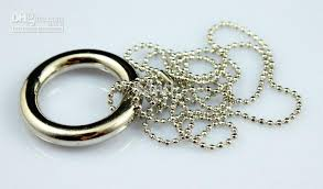 chain ring necklace images Magic necklace chain ring release magic toys magic tricks magic jpg