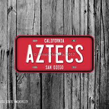sdsu alumni license plate san diego state aztecs sports fan apparel souvenirs ebay