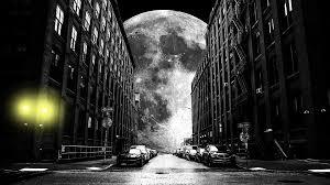 moon black and white glare free photo on pixabay