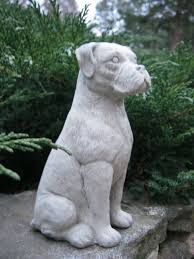 boxer dog upset stomach boxer dog concrete statue garden statue concrete statues