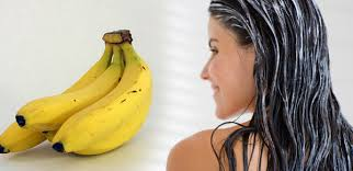 banana for hair apply banana hair mask for healthy and silky hair what woman needs