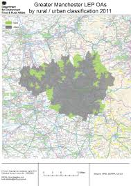 Manchester England Map by Local Enterprise Partnership Simple Rural Urban Maps Census 2011