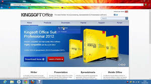 Microsoft Office Spreadsheet Free Download How To Download Kingsoft Office For Windows For Free Youtube
