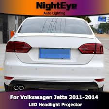 nighteye vw jetta mk6 tail lights north america design jetta led