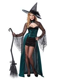 witch costumes deluxe enchantress witch costume 01329 fancy dress