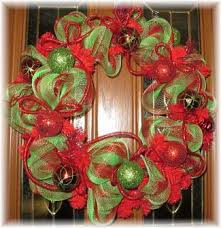 christmas mesh wreaths custom deco mesh wreaths for christmas decoration