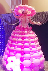 balloon dress balloon dress wows las vegas trade show the twisted
