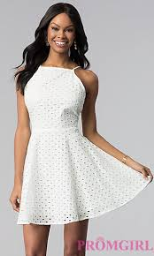 white 8th grade graduation dresses graduation dresses casual white dresses promgirl