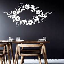 modern wall decals for living room flower wall sticker beautiful flower wines wall decal living room