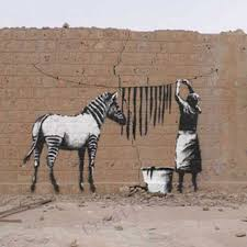 sticker supplier picture more detailed picture about free free shipping banksy zebra stripes wash vinyl wall sticker laundry room wall art sticker mural