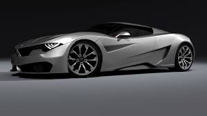 bmw supercar black m9 concept