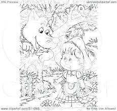 coloring pages red riding hood coloring pages images