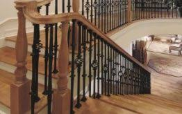 Wood Banisters And Railings Wood Stair Parts Handrail Balusters U0026 Custom Wood Stair Treads