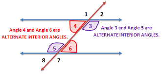 What Is Interior And Exterior Angles Untitled