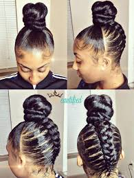 images of black braided bunstyle with bangs in back hairstyle 97 best flawless hair buns updo s images on pinterest black