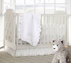 White Nursery Bedding Sets by Pottery Barn Blythe Cot 1339 Ideas For The House Pinterest