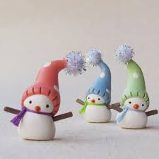 homemade polymer clay for christmas decorations family holiday