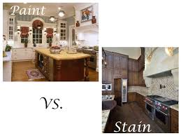 can you paint stained cabinets kitchen cabinets painted vs stained