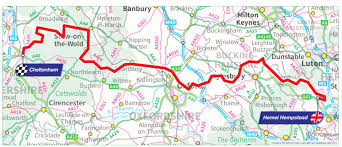 Britain Map Ovo Energy Tour Of Britain Stage Seven