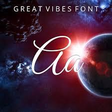 Seeking Font Great Vibes Font
