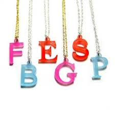 acrylic name necklace jc jewelry design acrylic collections sted jewelry