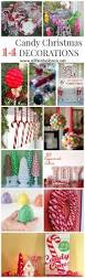 Home And Garden Christmas Decorating Ideas by 25 Best Candy Christmas Decorations Ideas On Pinterest Candy