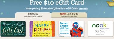 bonus gift card promotions barnes noble children s place