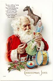 15 vintage cards that put santa claus in motion