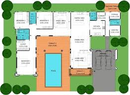 28 house plans with swimming pools house plans and design with