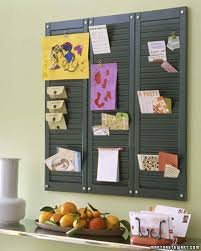ways you never thought reuse old shutters shutter organization
