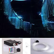 Glow Lighting Chandeliers Dot Sparkle End Glow Plastic Pmma Optic Fiber Chandelier For Home
