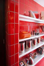 Red Kitchen Ideas 42 Best Dtile Kitchens Images On Pinterest Red Kitchen Kitchen