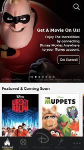 disney launches u0027disney movies u0027 app offers free copy