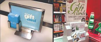 gift card display 9 ways to merchandise gift cards cps cards