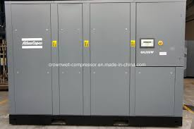 atlas copco oil injected air compressor shanghai crownwell