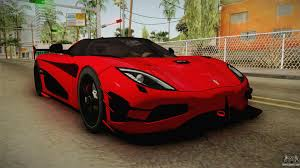 koenigsegg agera r red interior koenigsegg agera rs v2 for gta san andreas