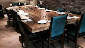 Living Edge Dining Table by Slab Live Edge Dining Table Design By From The Source New York