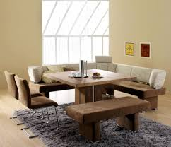 dining room table bench seats square extendable dining table in