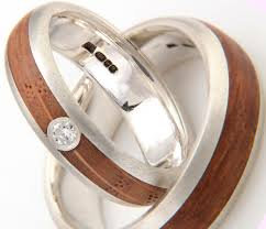 wooden wedding bands wooden engagement rings uk sparta rings