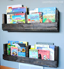 childrens book shelves how to make a pallet shelf diy shelf pallets pallet shelves