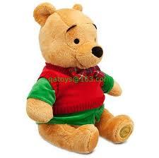 40cm disney christmas winnie pooh cartoon stuffed animals