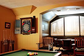 room and board custom table impressive dart board cabinet decoration ideas for family room modern