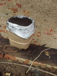 Watering Vertical Gardens - rainwater terrace capillary mat fitting instructions for a self