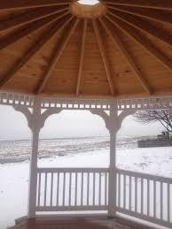 gazebos woodframe structures