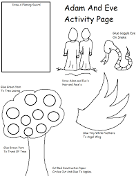 coloring pages adam and eve coloring pages to download and print
