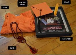 graduation shadow box cap and gown 5 easy steps to show your graduation memories